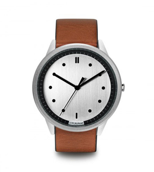 Hypergrand 02 NATO Silver Silver + Classic Honey - Men's Online Shopping in Singapore | The Assembly Store - 1