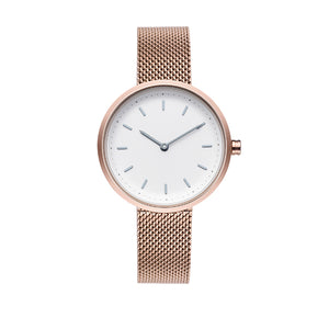 Conc 33-Rose Gold Stainless Steel Watch