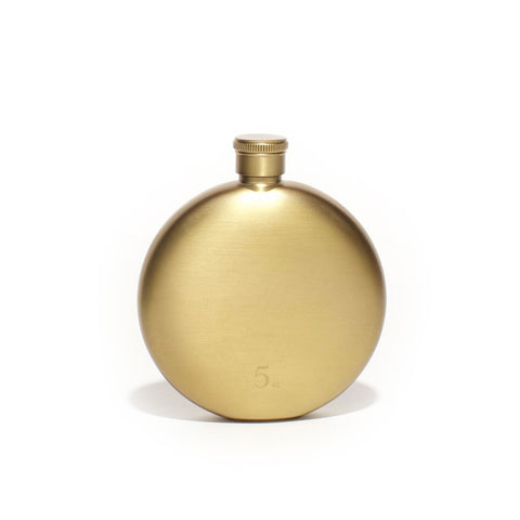 5oz Gold Flask