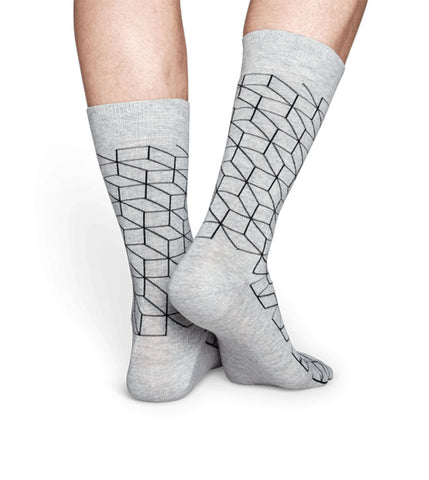 Happy Socks Optic Sock - Men's Online Shopping in Singapore | The Assembly Store - 3