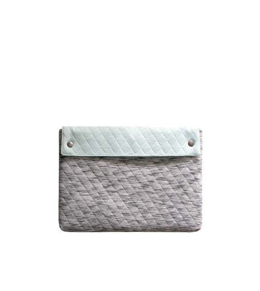 "Fabrix Folio Case 13"" Wolf Gray Remix - Men's Online Shopping in Singapore 