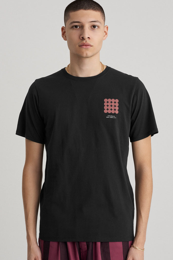 Density Chest T-Shirt Black