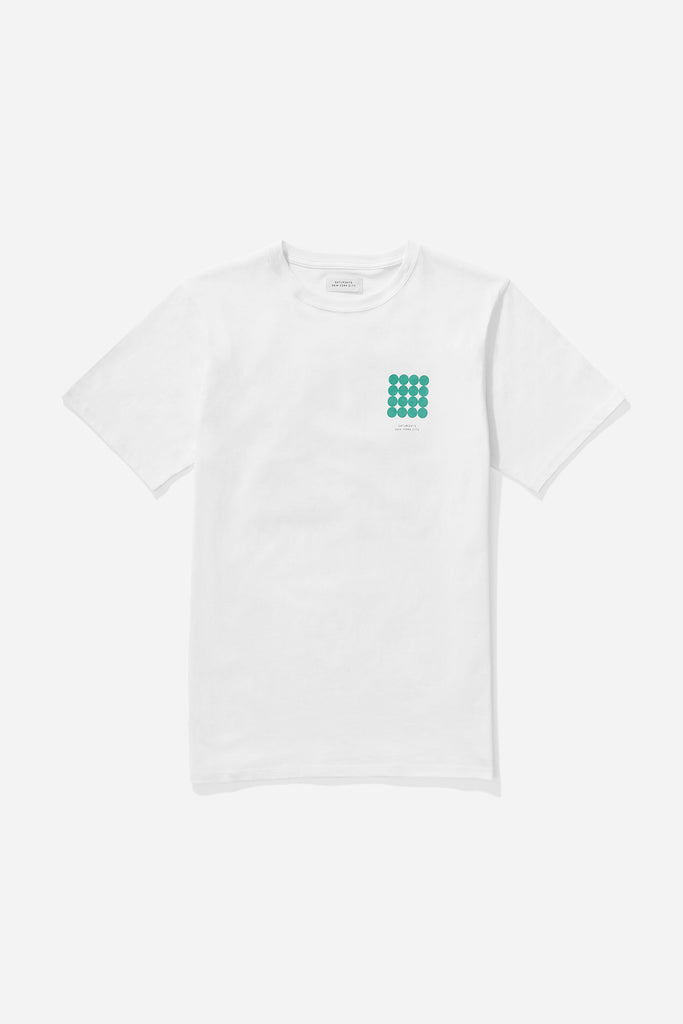 Density Chest T-Shirt White