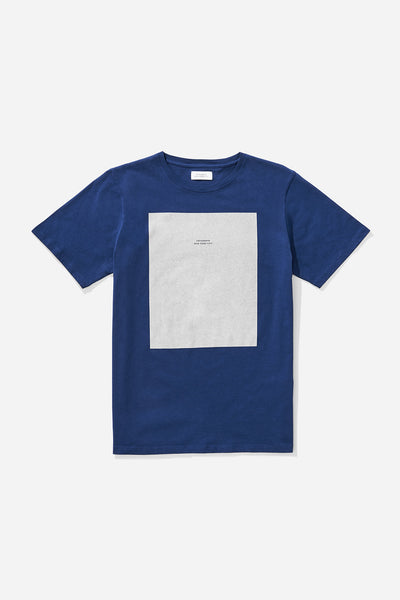 Logo Rectangle T‑Shirt Cobalt