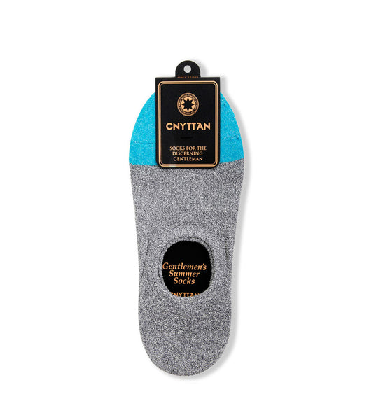 CNYTTAN Boucle Ankle Socks Gray Blue - Men's Online Shopping in Singapore | The Assembly Store