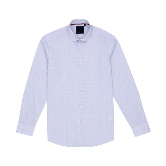Nouchi Easy Iron Graph Check Shirt