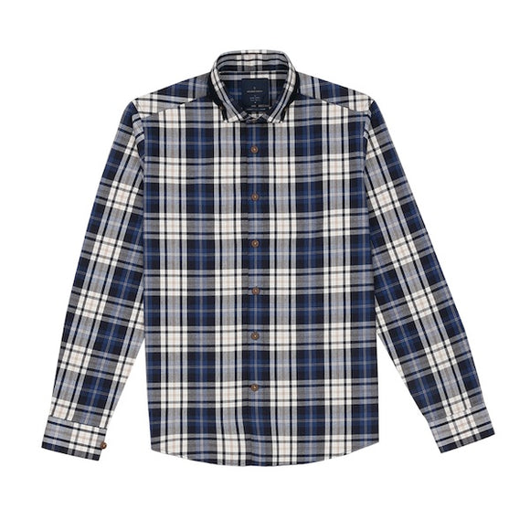 Kato Lumberjack Check with Patch Shirt