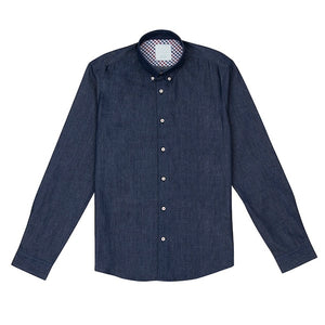 Oystergate Washed Chambray Shirt