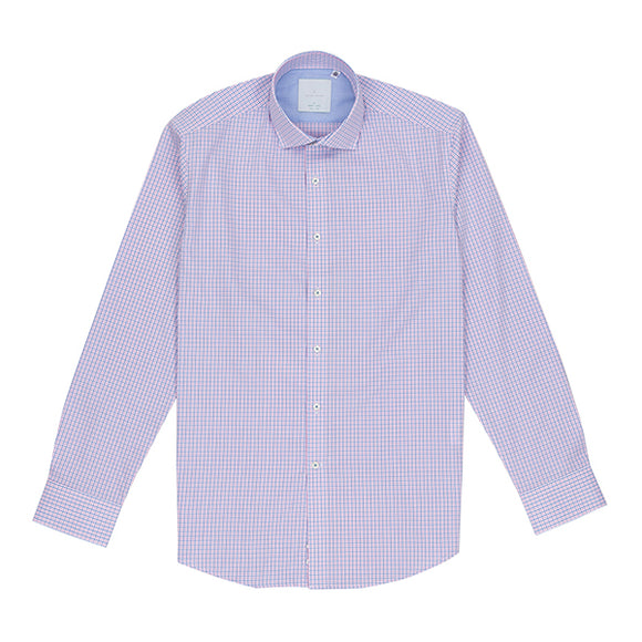 Allisten Easy Iron Graph Check Shirt