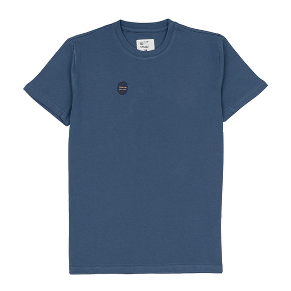 Azure Blue Washed Cotton Tee