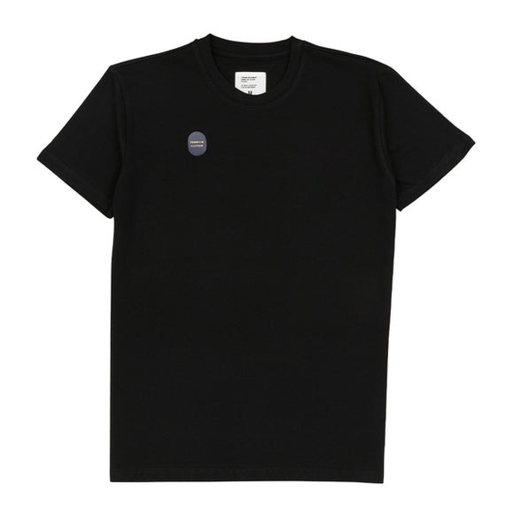 Black Washed Cotton Tee