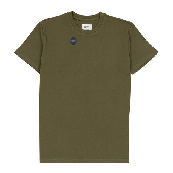 Green Washed Cotton Tee