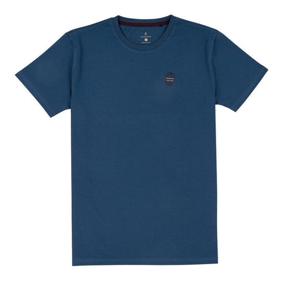 Blue Washed Cotton Tee