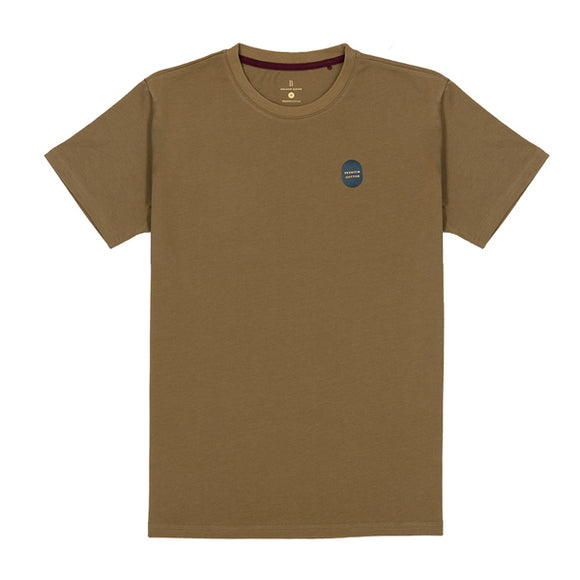 Olive Washed Cotton Tee
