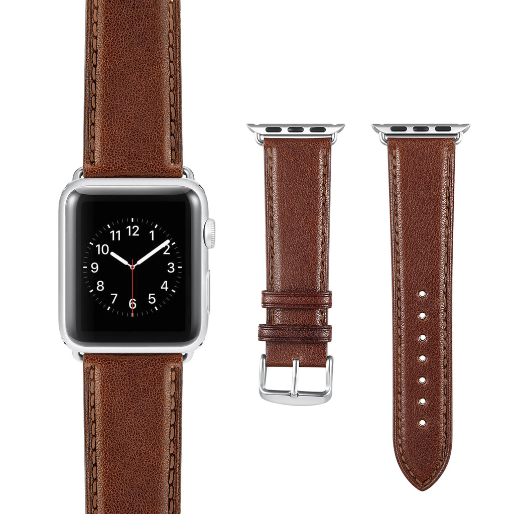 Dark Brown Leather Strap