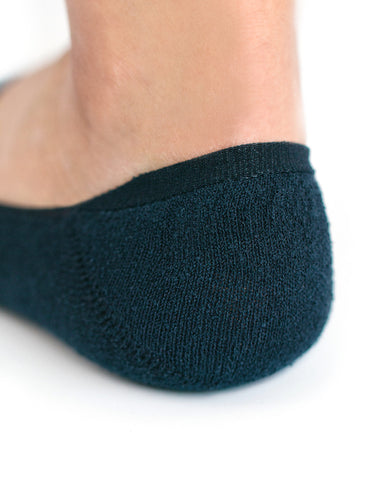 Boucle Invisible Socks Dark Navy