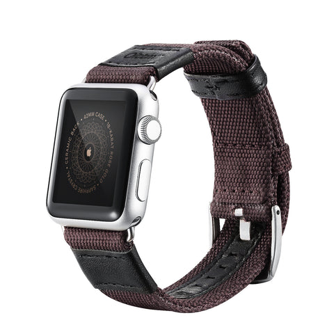 WOOVEN NYLON APPLE WATCH STRAP 42MM