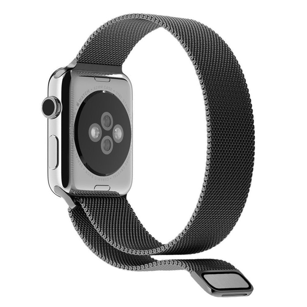 Black Milanese Mesh Apple Watch