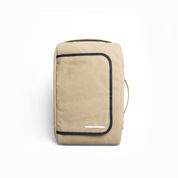 Rawrow R BAG 112 RAW WAXED 15 INCH BEIGE - Men's Online Shopping in Singapore | The Assembly Store - 1