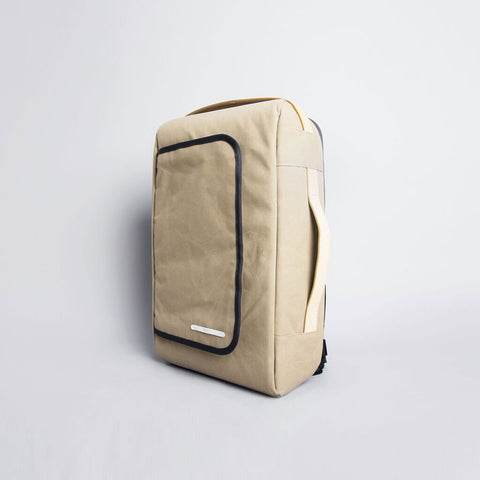 Rawrow R BAG 112 RAW WAXED 15 INCH BEIGE - Men's Online Shopping in Singapore | The Assembly Store - 2