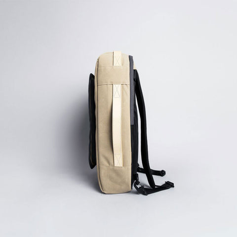 Rawrow R BAG 112 RAW WAXED 15 INCH BEIGE - Men's Online Shopping in Singapore | The Assembly Store - 3