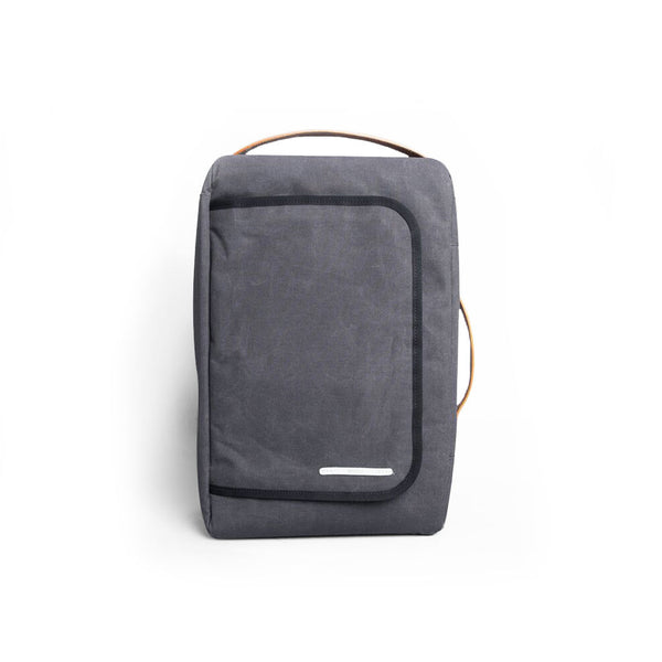 Rawrow R BAG 112 RAW WAXED 15 INCH CHARCOAL - Men's Online Shopping in Singapore | The Assembly Store - 1