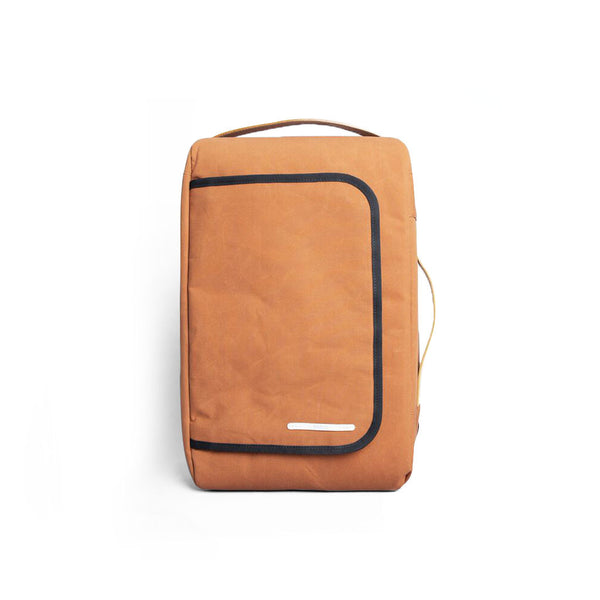 Rawrow R BAG 112 RAW WAXED 15 INCH ORANGE - Men's Online Shopping in Singapore | The Assembly Store - 1