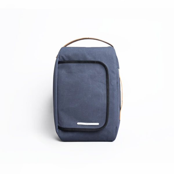 Rawrow R BAG 208 RAW WAXED 13 INCH NAVY - Men's Online Shopping in Singapore | The Assembly Store - 1