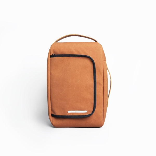Rawrow R BAG 208 RAW WAXED 13 INCH ORANGE - Men's Online Shopping in Singapore | The Assembly Store - 1