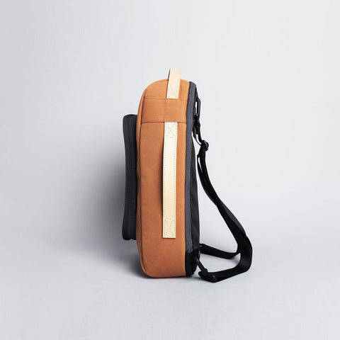 Rawrow R BAG 208 RAW WAXED 13 INCH ORANGE - Men's Online Shopping in Singapore | The Assembly Store - 3