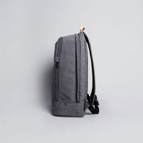 Rawrow R BAG 530 RAW WAXED 15 INCH CHARCOAL - Men's Online Shopping in Singapore | The Assembly Store - 6