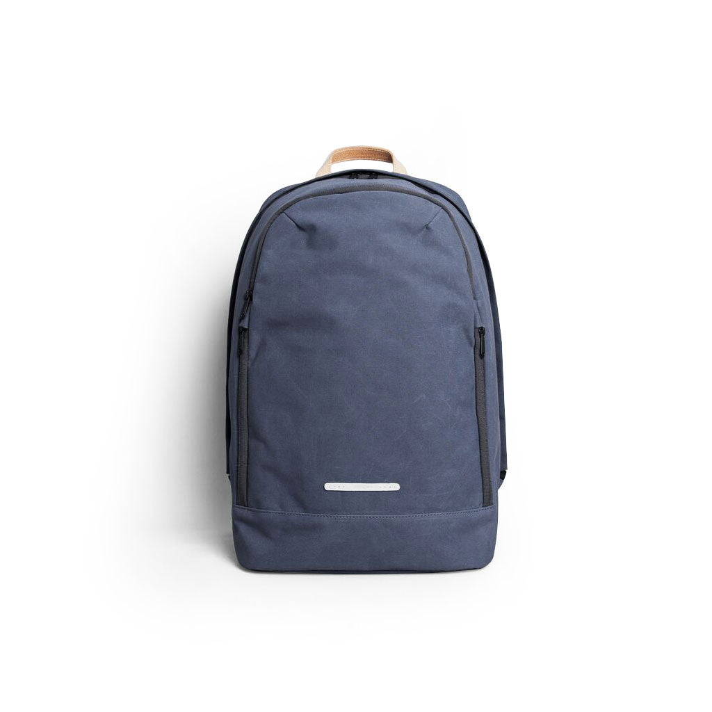 R BAG 530 RAW WAXED 15 INCH NAVY