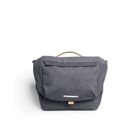 Rawrow R MESSENGER 500 RAW WAXED 15 INCH CHARCOAL - Men's Online Shopping in Singapore | The Assembly Store - 1