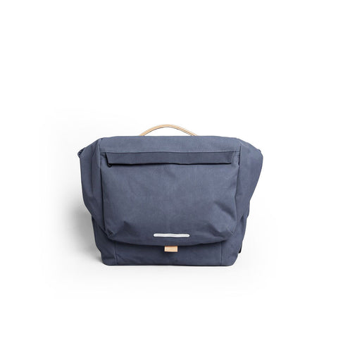 Rawrow R MESSENGER 500 RAW WAXED 15 INCH NAVY - Men's Online Shopping in Singapore | The Assembly Store - 1