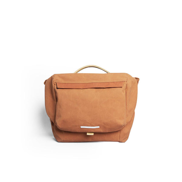 Rawrow R MESSENGER 500 RAW WAXED 15 INCH ORANGE - Men's Online Shopping in Singapore | The Assembly Store - 1