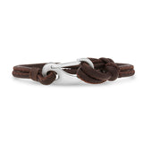 Ron Bracelet-Brown Leather