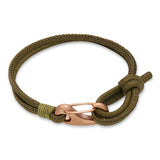 Ron Bracelet-Olive Leather