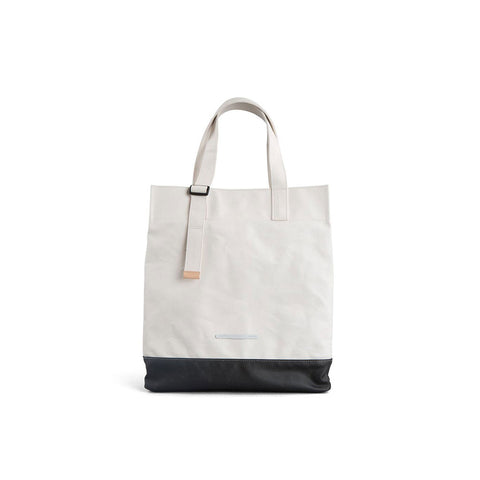 Rawrow R TOTE 290 RUGGED CANVAS WHITE - Men's Online Shopping in Singapore | The Assembly Store - 1