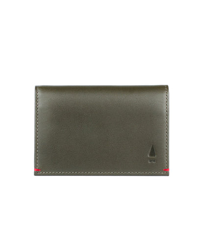 Gnome & Bow Warren Card Holder Forest Green - Men's Online Shopping in Singapore | The Assembly Store - 1