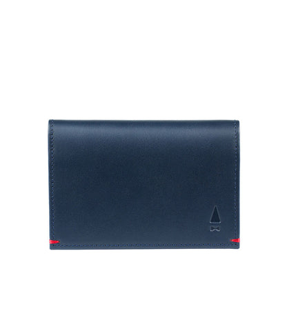Gnome & Bow Warren Card Holder Midnight Blue - Men's Online Shopping in Singapore | The Assembly Store - 1