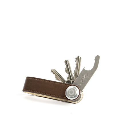 Orbitkey Leather Chocolate - Men's Online Shopping in Singapore | The Assembly Store - 1