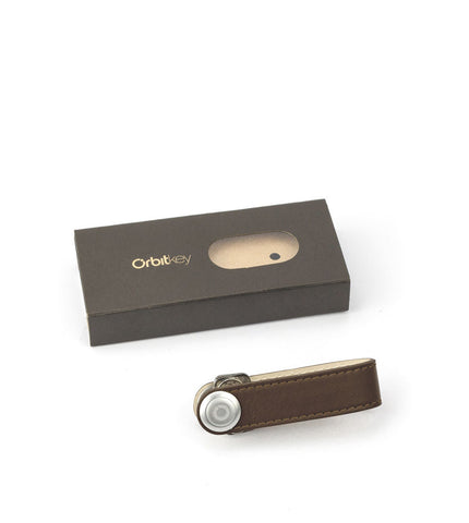 Orbitkey Leather Chocolate - Men's Online Shopping in Singapore | The Assembly Store - 2