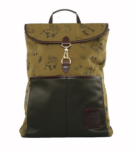 Gnome & Bow Clifford Backpack - Forest Green - Men's Online Shopping in Singapore | The Assembly Store - 2