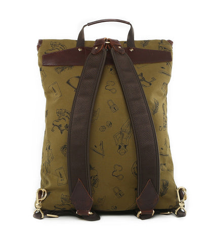 Gnome & Bow Clifford Backpack - Forest Green - Men's Online Shopping in Singapore | The Assembly Store - 4