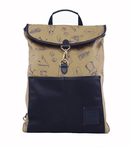 Gnome & Bow Clifford Backpack - Midnight Blue - Men's Online Shopping in Singapore | The Assembly Store - 2