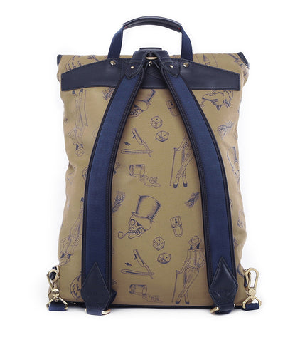 Gnome & Bow Clifford Backpack - Midnight Blue - Men's Online Shopping in Singapore | The Assembly Store - 4