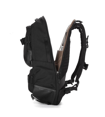 Brown Breath Definition Backpack - Men's Online Shopping in Singapore | The Assembly Store - 4
