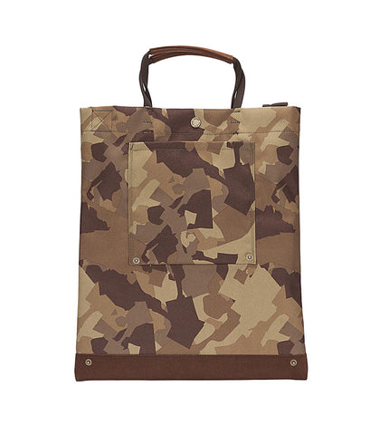 Brown Breath Deliver Bag Khaki Camo - Men's Online Shopping in Singapore | The Assembly Store - 2