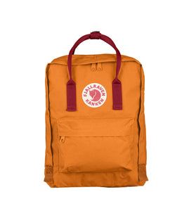 Fjallraven Kanken Bag Burnt Orange and Deep Red - Men's Online Shopping in Singapore | The Assembly Store