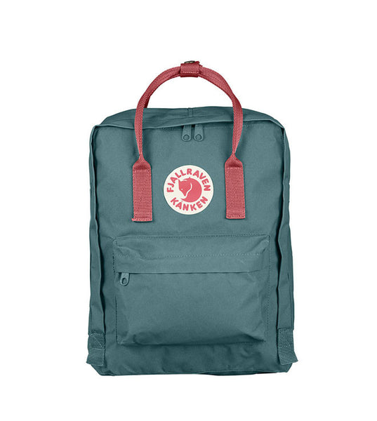 Fjallraven Kanken Bag Frost Green and Peach Pink - Men's Online Shopping in Singapore | The Assembly Store